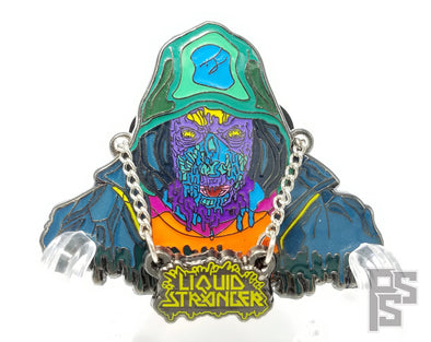Liquid Stranger Lapel Pin