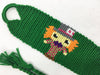 """Alice in Wonderland"" Mad Hatter Friendship Bracelet (Custom Hand Made)"