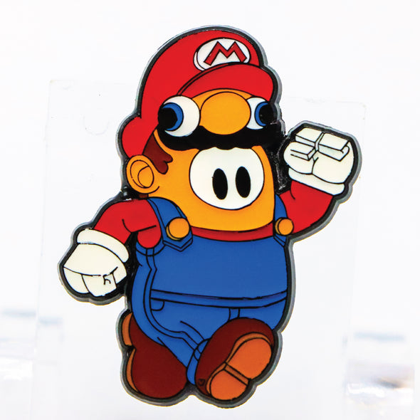 Fall Guys: Mario Lapel Pin