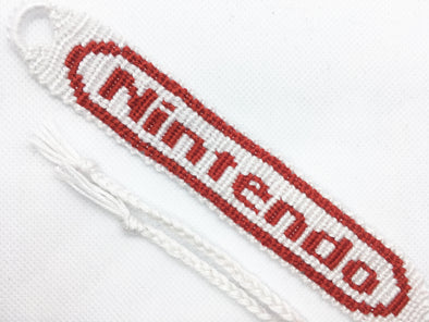 Nintendo Friendship Bracelet (Custom Hand Made)