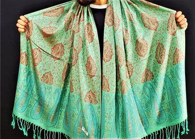 Ocean Breeze Pashmina (UV Reactive)
