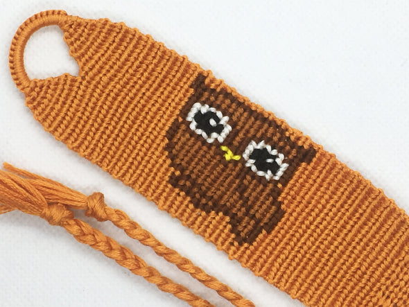 Owl Friendship Bracelet (Custom Hand Made)