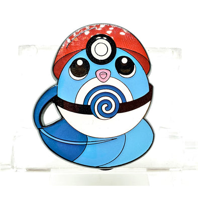 Poliwag Pokeball Lapel Pin