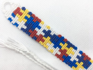 Puzzle Pieces Friendship Bracelet (Custom Hand Made)