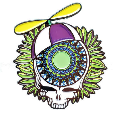 Scooter Grateful Dead Lapel Pin