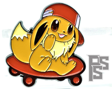 Eevee Skater Kid Lapel Pin