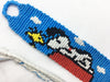 Snoopy Friendship Bracelet (Custom Hand Made)