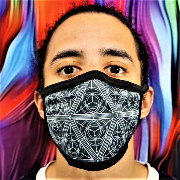 Space Triangle Face Mask
