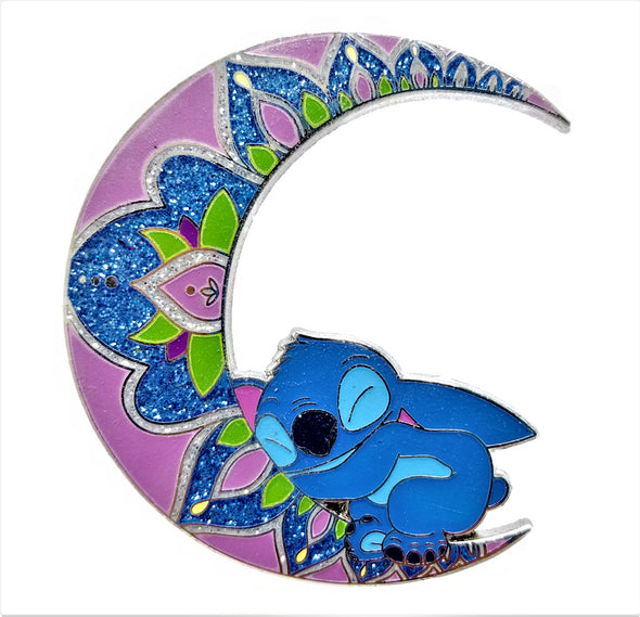 Stitch: Moonside Nap Time Pin