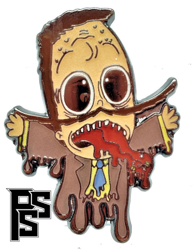 Super Jail Spooky Jared Pin