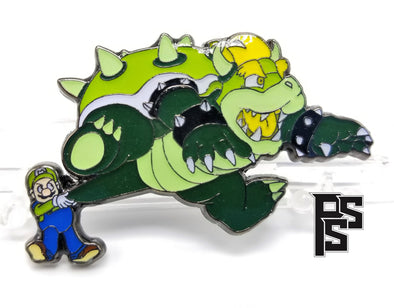 Super Mario 64 (Green) Lapel Pin