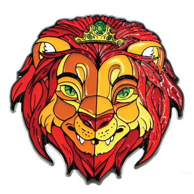 The Lion Queen Lapel Pin