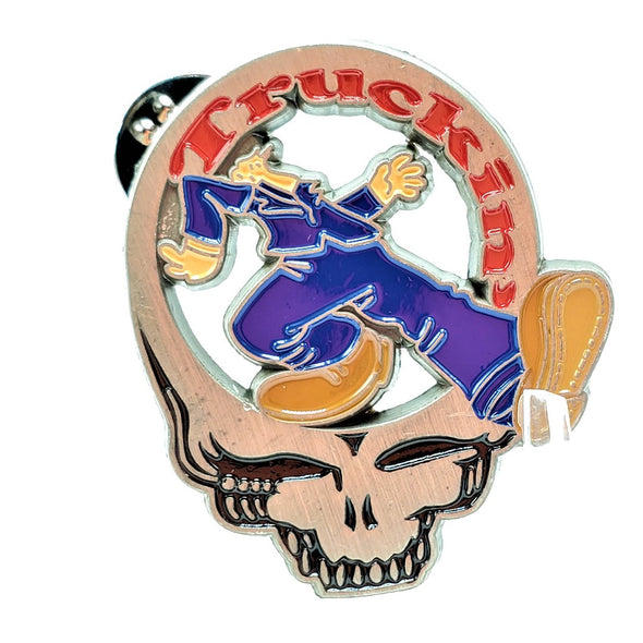 Grateful Dead Truckin' Lapel Pin