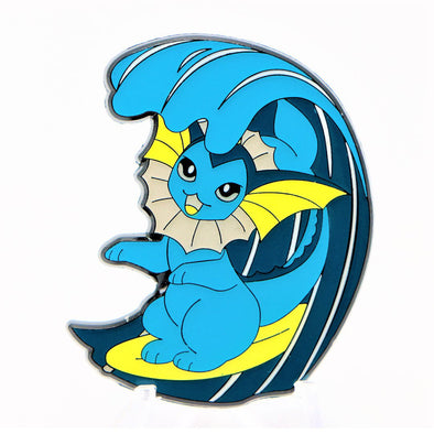Vaporeon Surfin Lapel Pin