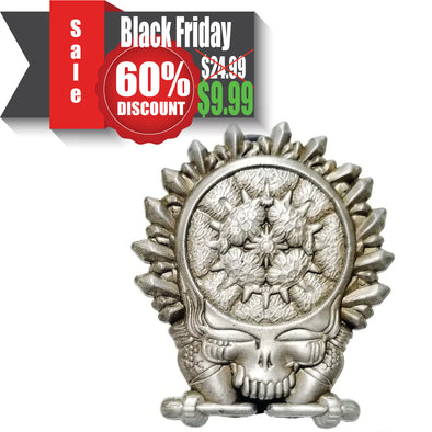 Grateful Dead: Crystal Skull Lapel Pin