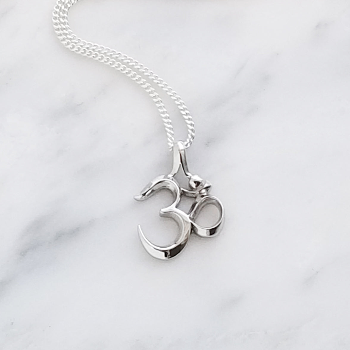 Large Om Necklace