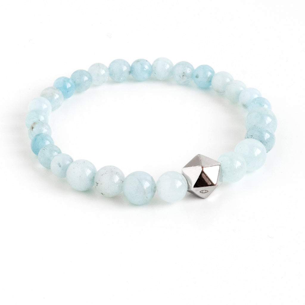 Aquamarine Intention Bracelet