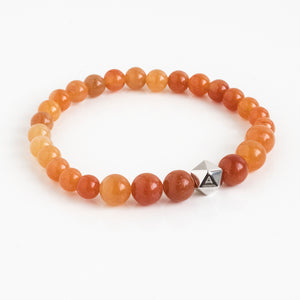 Red Aventurine Intention Bracelet