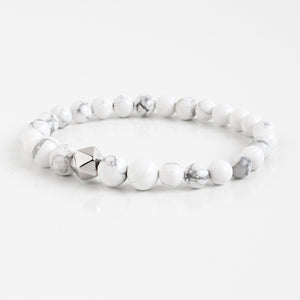 Howlite Intention Bracelet