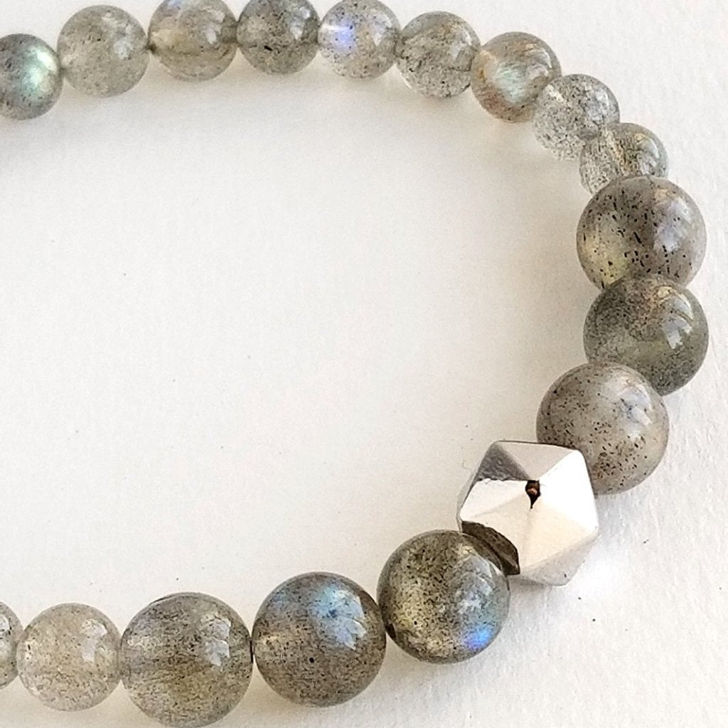 Labradorite Intention Bracelet Anahata