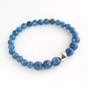 Blue Kyanite Intention Bracelet