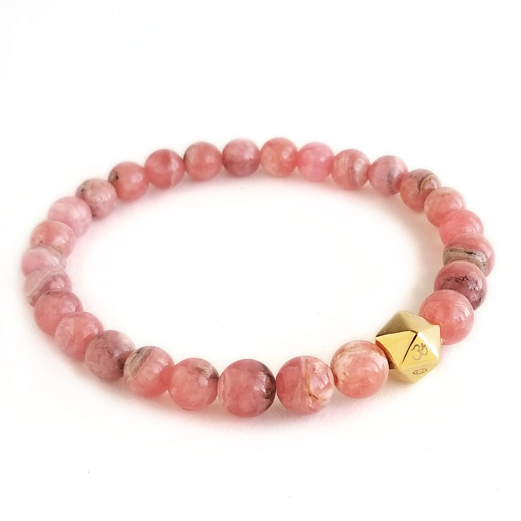 Rhodochrosite Intention Bracelet