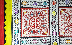 Multicoloured Appliqué quilt