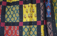 Multicoloured Patchwork Quilt 8