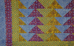 Multicoloured Patchwork Quilt 6