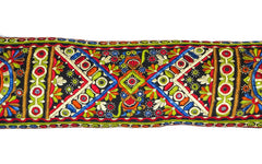 Sodha Embroidery Lumbar Pillow