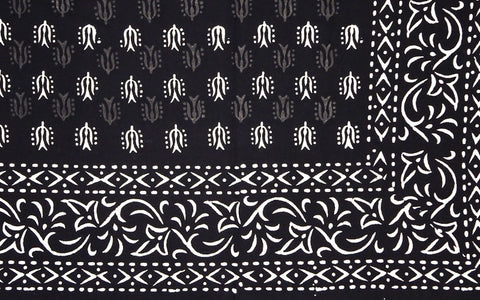 Block Print / Dabu Mud Resist Tablecloth