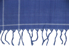 Black and Blue Ikat Sarong