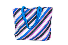 Recycled Woven Plastic Tote - Large
