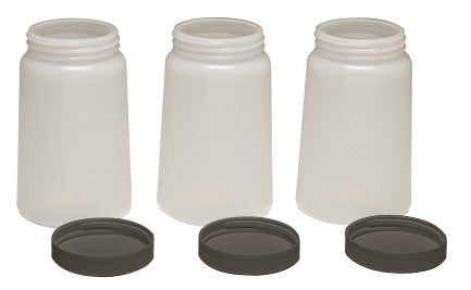 A5405T - 3-pack of air brush bottles with lids