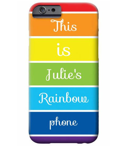 Rainbow Cell Phone Case