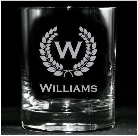 Whiskey Glasses, Personalized