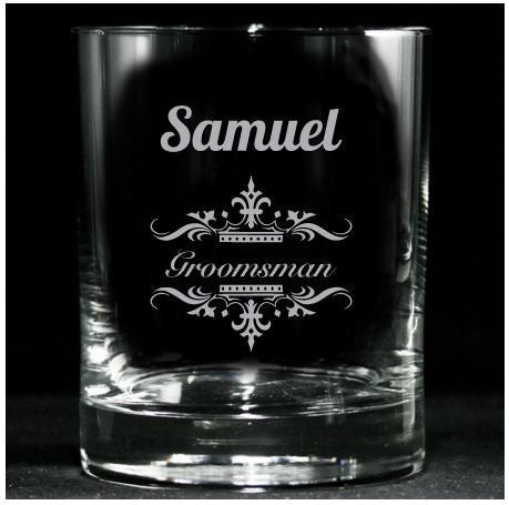 Whiskey Glasses, Wedding Party Gifts