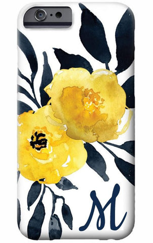 Floral Watercolor Cell Phone Case