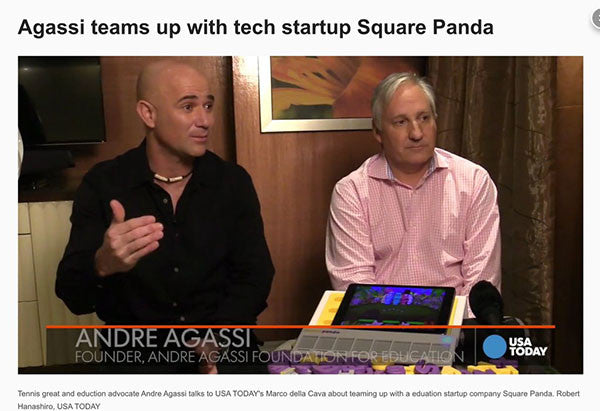 USA Today Coverage of Square Panda Launch