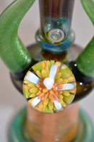 Green Chromatic Horned Mini Tube