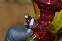 Red and Yellow Faceted Recycler