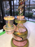 Green and Fumed Pink Ball Rig