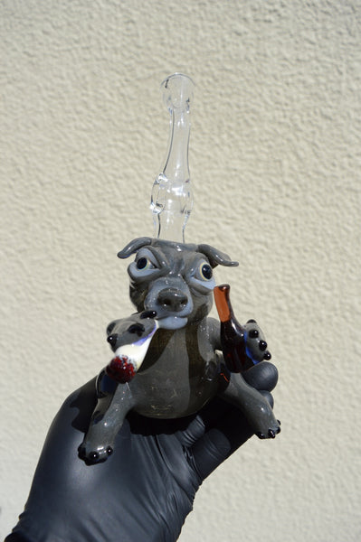 Sculpted Party Dog Mini Tube