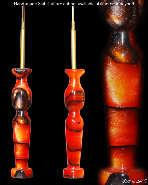 Orange 'Ribbon' Dabber
