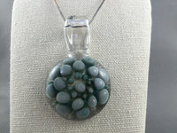 Deep Green Mint Implosion Pendant
