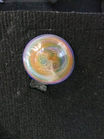 Rainbow Fumed Disc Pendant