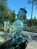 2-Tone Blue Double Recycler