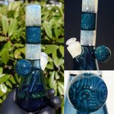 Blue Crop Circle and Fume Tube
