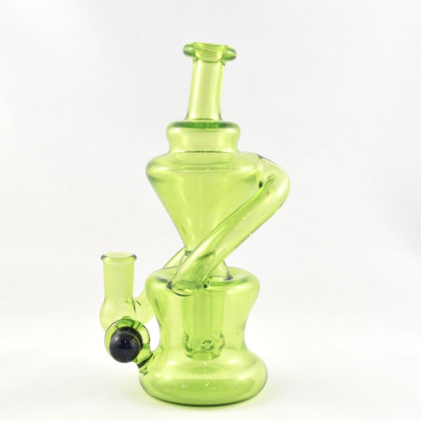 Green Colour Drop Recycler