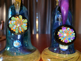 Flower/Dab Sets with Removable Downstem